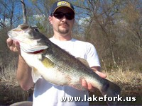 Chris A. with Lake Fork guide Jason Hoffman