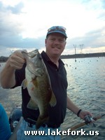 Larry - testimonial - Lake Fork guide Jason Hoffman