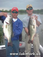 Steve and Lake Fork guide Jason Hoffman
