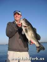James with Lake Fork guide Jason Hoffman