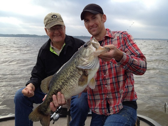 Clients of Lake Fork Guide Jason Hoffman