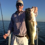 Lake Fork Picture | Big Bass Photo | Santone Jig